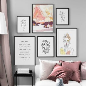 Letters Quotes Art Improve Your House And Yourself